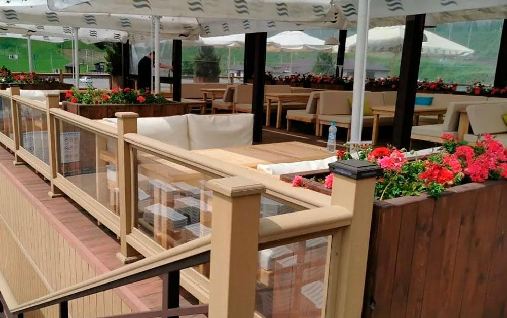 терраса для кафе и ресторана