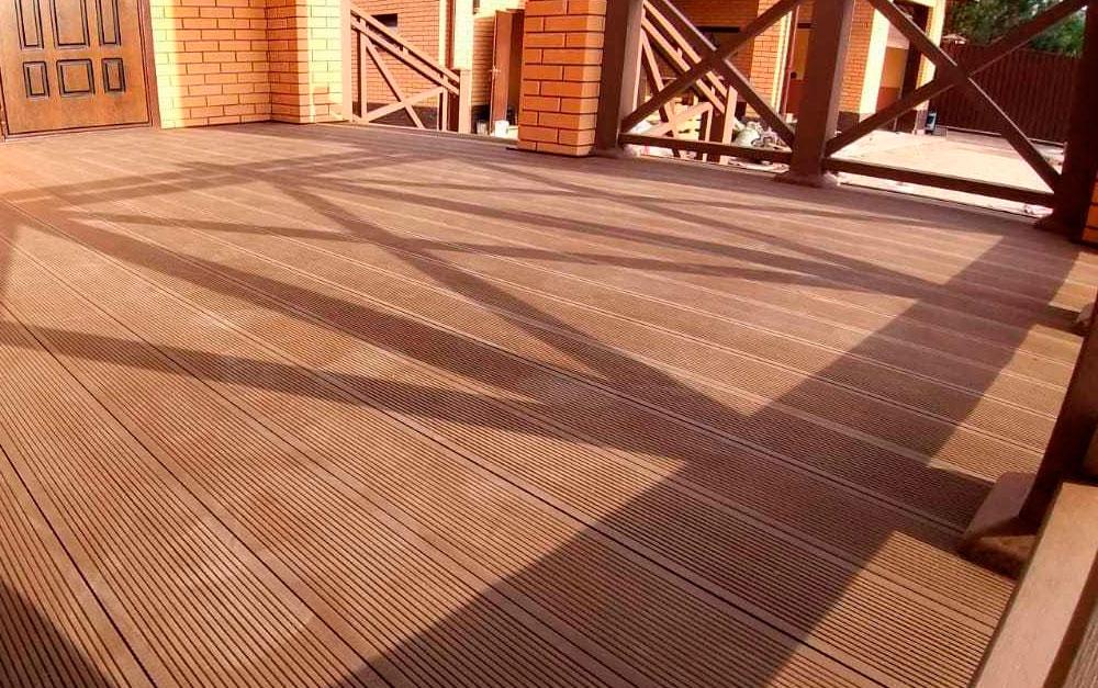 Строительство террас из ДПК